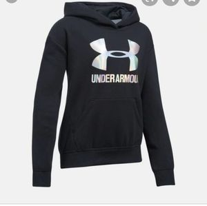 Under Armour Youth Small Girl Black hooded